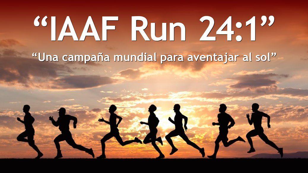 IAAF организовала 24 забега на различных континентах в День бега